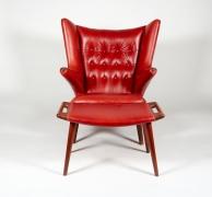 """Hans J. Wegner """"Papa Bear"""" Chair for A.P. Stolen, front"""