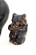 Bear Sculptures by Knud Kyhn for Royal Copenhagen, Bear 3