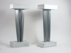Harry Bertoia Stainless Steel and Gypsum Sculptures