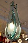 Italian Glass Pendant Lights in the Style of Max Ingrand for Fontana Arte