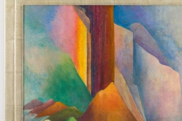 Painting by Laura Elston Glenn '1880-1952'