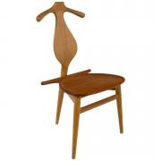 Hans Wegner Teak Valet Chair by Johannes Hansen for Knoll