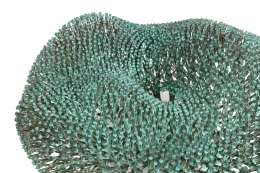Harry Bertoia Welded Copper and Bronze Bush Sculpture with Applied Patina, 5