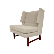 Dunbar Style Wing Chairs by Lost City Arts