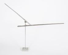 "George Rickey ""One Horizontal One Diagonal Line"" Sculpture, 2"