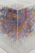 Irving Harper Paper and String Sculpture in Acrylic Box, Close Up 4