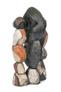 Abstract Ceramic Figural Sculpture