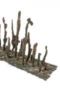 Klaus Ihlenfeld Early Bronze Platform Sculpture