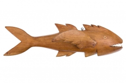 "Pitcairn Island ""Mutiny on the Bounty"" Wall-Mounted Flying Fish"
