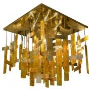 Sciolari Murano Glass Flush Mount Fixture