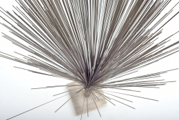 "Harry Bertoia Early Stainless Steel ""Spray"" Sculpture"