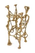 "Ibram Lassaw Bronze Sculpture ""Capricorn"""