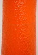 "Fausto Salvi ""Vegetalisperimentali"" Orange Glazed Ceramic Sculpture"