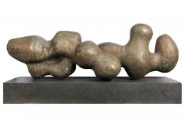 Bent Sorensen Bronze Abstract Sculpture