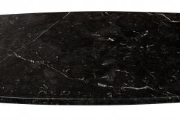 "Angelo Mangiarotti for Skipper Black Marquina Marble ""Eros"" Console"