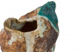 Ceramic Sculptural Vase by Henrik Folsgaard