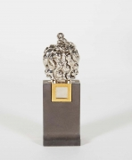 "Berrocal Micro ""Micheline X, Opus 139"" Pendant Sculpture & Stand"