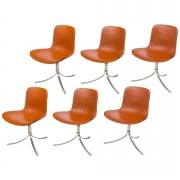 Poul Kjaerholdm PK 9 Side Chairs