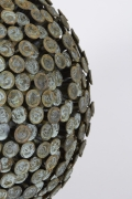 """Bronze and Copper Sculpture """"Autumn Bloom"""" by Douglas Ihlenfeld, Close Up 2"""