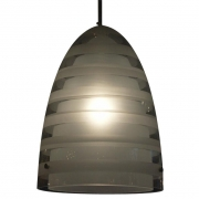 Frosted Glass Pendant Lamp by Louise Campbell