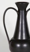 Gio Ponti Black Ceramic Vase for Neoponti
