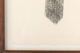 Harry Bertoia Framed Monotype on Rice Paper