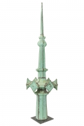 Copper Spire from the Woolworth Building by Architect Cass Gilbert