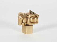 Miguel Berrocal Bronze Micro Maria Pendant