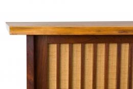 George Nakashima Free Edge Wall Mounted Cabinet