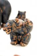 Bear Sculptures by Knud Kyhn for Royal Copenhagen, Bear 4