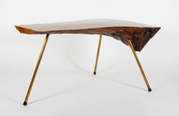 Carl Auböck Walnut Table