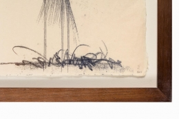 Harry Bertoia Monotype on Rice Paper
