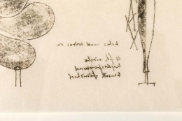 Harry Bertoia Monoprint