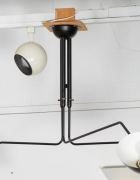 Ceiling Light in the Manner of Serge Mouille