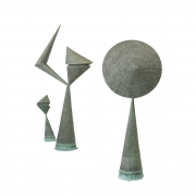 Important Harry Bertoia Sculptures from Stemmons Towers