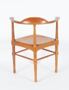 Vintage Model of Danish Mid-Century Corner Chair, Back