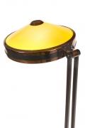 Stilnovo Adjustable Yellow & White Perspex Floor Lamp Model 4067