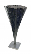 Harry Bertoia Spray Sculpture with Rare Flat Rounded Ends