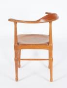 Vintage Model of Danish Mid-Century Corner Chair, Back 3/4