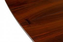 George Nakashima Fine Walnut & Rosewood Conoid Dining Room Table