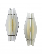 Pair of Italian Mid-Century Sconces Attributed to Max Ingrand for Fontana Arte