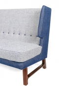 Wing Settee in the Manner of Dunbar by Lost City Arts, Cropped View of Side 2