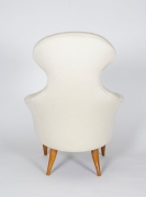"""""""Big Eva"""" Lounge Chair and Ottoman by Kerstin Hörlin-Holmquist, Back"""