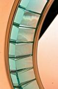Hand-Cut Crystal Glass Mirror by Ghiro