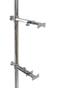 Articulating Chrome Easel Floor Lamp in the Style of Arredoluce