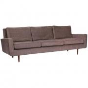 Mid Century Classic Three Seat Sofa by Lost City Arts