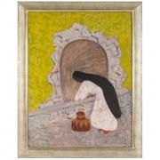 """Milton Avery """"Agua"""" Oil on Canvas"""