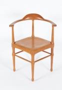 Vintage Model of Danish Mid-Century Corner Chair, 1