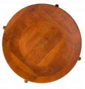 Jens Quistgaard Style Teak Tray Table, Birds Eye View