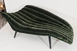 Hans Hartl Style Chaise Longue